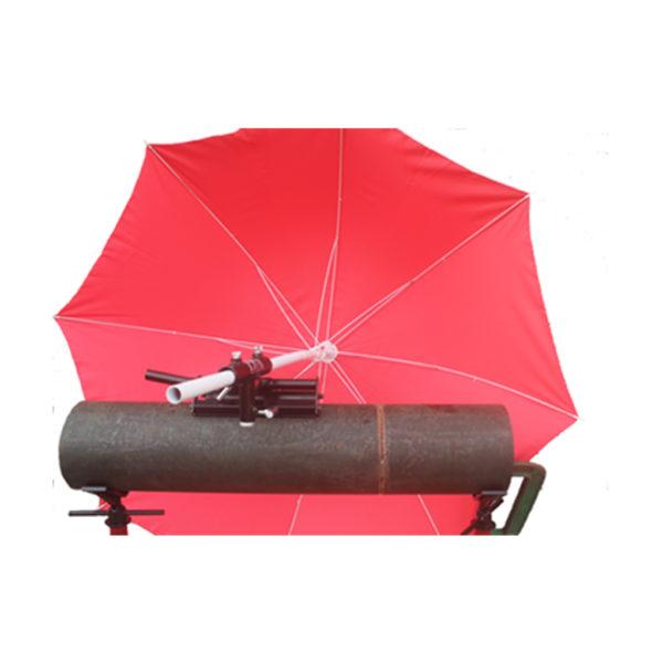 magnetic adjustable umbrella holder side view